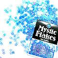 MysticFlakes オーロラブルー スター 0.5g