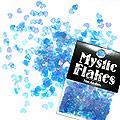 MysticFlakes オーロラブルー ハート 0.5g