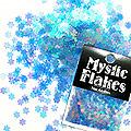 MysticFlakes オーロラブルー フラワー 0.5g