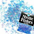 MysticFlakes オーロラブルー バタフライ 0.5g