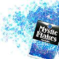 MysticFlakes オーロラブルー ティアドロップ 0.5g