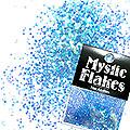MysticFlakes オーロラブルー ヘキサゴン 1mm 0.5g