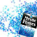 MysticFlakes オーロラブルー ヘキサゴン 2.5mm 0.5g