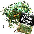 MysticFlakes オーロラグリーン サークル 2mm 0.5g