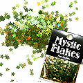 MysticFlakes オーロラグリーン スター 0.5g