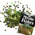 MysticFlakes オーロラグリーン ミニハート 0.5g