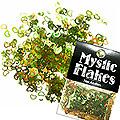 MysticFlakes オーロラグリーン ハート&ムーン 0.5g