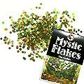 MysticFlakes オーロラグリーン フラワー 0.5g