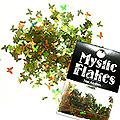 MysticFlakes オーロラグリーン バタフライ 0.5g