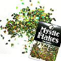 MysticFlakes オーロラグリーン ティアドロップ 0.5g