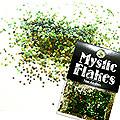 MysticFlakes オーロラグリーン ヘキサゴン 1mm 0.5g