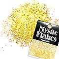 MysticFlakes オーロライエロー サークル 1mm 0.5g