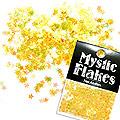 MysticFlakes オーロライエロー スター 0.5g