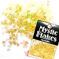 MysticFlakes オーロライエロー ハート 0.5g