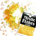 MysticFlakes オーロライエロー ミニハート 0.5g