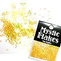 MysticFlakes オーロライエロー ハート&ムーン 0.5g