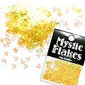MysticFlakes オーロライエロー バタフライ 0.5g