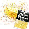 MysticFlakes オーロライエロー ヘキサゴン 1mm 0.5g