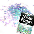 MysticFlakes オーロラパープル ミニハート 0.5g