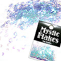 MysticFlakes オーロラパープル ハート&ムーン 0.5g
