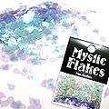 MysticFlakes オーロラパープル ティアドロップ 0.5g
