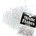 MysticFlakes ホロシルバー サークル 1mm 0.5g