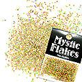 MysticFlakes ホロゴールド サークル 1mm 0.5g