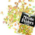 MysticFlakes ホロゴールド ハート 0.5g