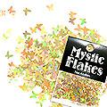 MysticFlakes ホロゴールド バタフライ 0.5g