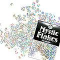 MysticFlakes ホロスパークシルバー ミニハート 0.5g