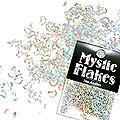 MysticFlakes ホロスパークシルバー ハート&ムーン 0.5g