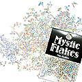 MysticFlakes ホロスパークシルバー バタフライ 0.5g