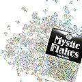 MysticFlakes ホロスパークシルバー ティアドロップ 0.5g