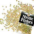 MysticFlakes ホロスパークゴールド サークル 2mm 0.5g