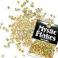 MysticFlakes ホロスパークゴールド スター 0.5g