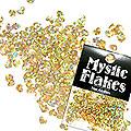 MysticFlakes ホロスパークゴールド ハート 0.5g