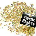 MysticFlakes ホロスパークゴールド ハート&ムーン 0.5g