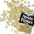 MysticFlakes ホロスパークゴールド バタフライ 0.5g