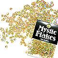 MysticFlakes ホロスパークゴールド ヘキサゴン 2.5mm 0.5g