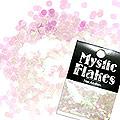 MysticFlakes カメレオンクリアピンク サークル 2mm 0.5g