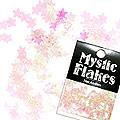 MysticFlakes カメレオンクリアピンク スター 0.5g