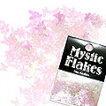MysticFlakes カメレオンクリアピンク バタフライ 0.5g
