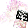 MysticFlakes カメレオンクリアピンク ティアドロップ 0.5g