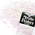 MysticFlakes カメレオンクリアピンク ヘキサゴン 1mm 0.5g