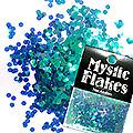 MysticFlakes カメレオンターコイズグリーン サークル 2mm 0.5g