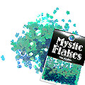 MysticFlakes カメレオンターコイズグリーン ミニハート 0.5g