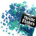 MysticFlakes カメレオンターコイズグリーン バタフライ 0.5g