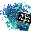 MysticFlakes カメレオンターコイズグリーン ティアドロップ 0.5g