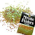 MysticFlakes カメレオンワインレッド サークル 1mm 0.5g