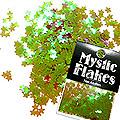 MysticFlakes カメレオンワインレッド スター 0.5g
